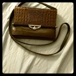 Brighton crossbody organizer purse